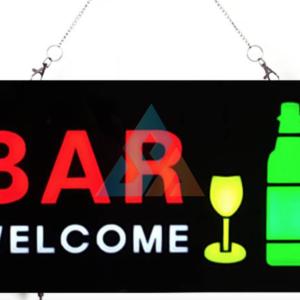 Bar Sign Lighting Display