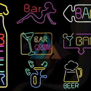 Bar Neon Lighting Sign